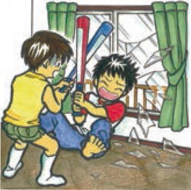 樹脂二重窓パネル まどりーど 衝突時のけが防止に