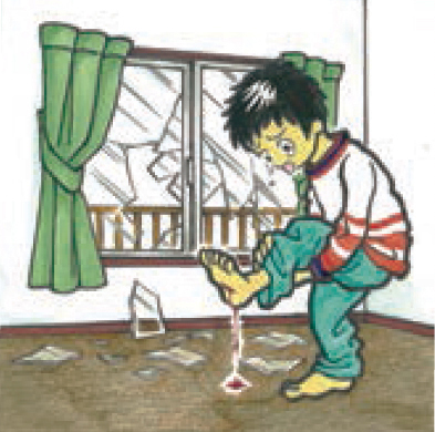 樹脂二重窓パネル まどりーど 室内への窓ガラス飛散を防ぎます
