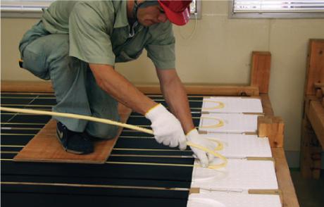 パオ暖爵 工法2:平床工法