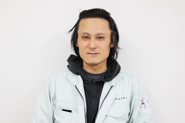 株式会社エコミナミ 技術部 課長 杉森 孝久