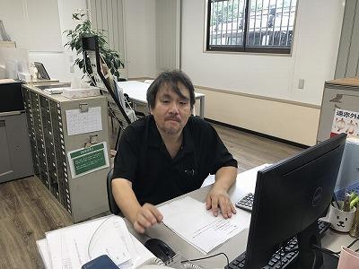 株式会社エコミナミ 営業部 田所 豊