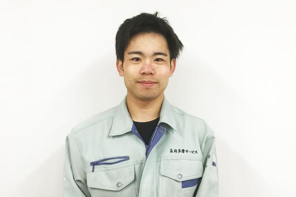 株式会社エコミナミ 技術部棚瀬 雄太