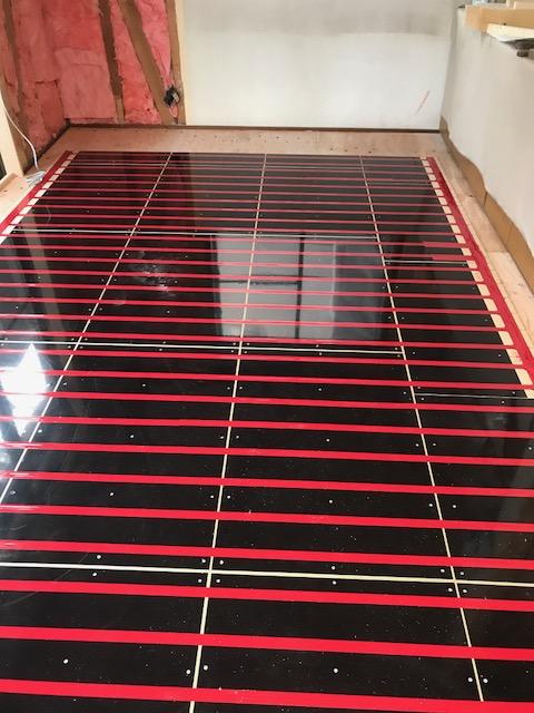 遠赤外線温水式床暖房ゆかだんパオ 施工例